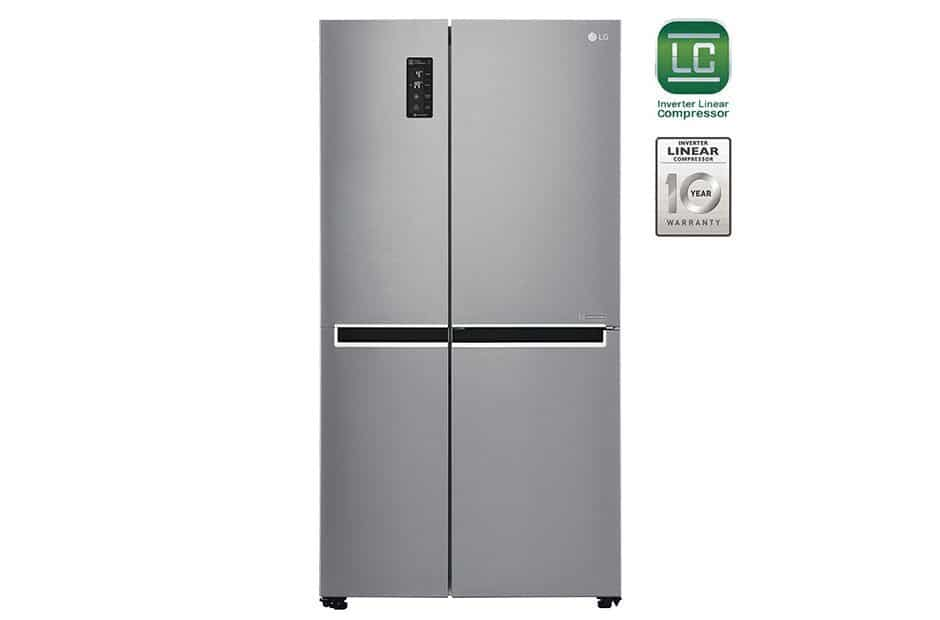 LG Refrigerator (Side-by-Side 687 Liters) top refrigerators in India