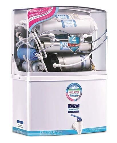 KENT Grand Wall-Mountable RO + UV/UF + TDS Controller Water Purifier